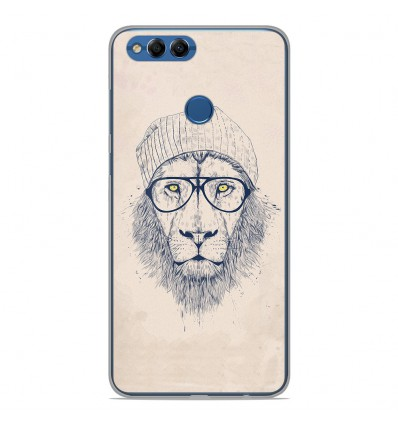 Coque en silicone Huawei Y9 2018 - BS Cool Lion