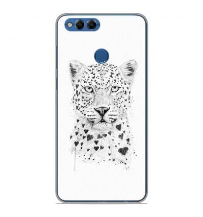 Coque en silicone Huawei Y9 2018 - BS Love leopard