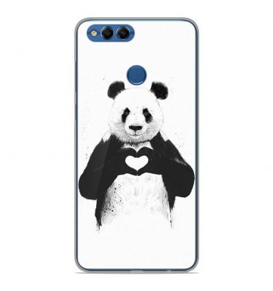 Coque en silicone Huawei Y9 2018 - BS Love Panda