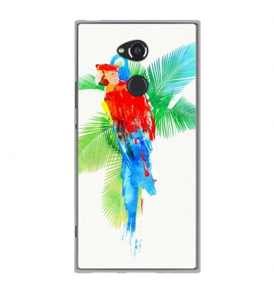 Coque en silicone Sony Xperia XA2 Ultra - RF Tropical party