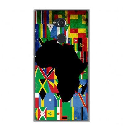 Coque en silicone Sony Xperia XA2 Ultra - Drapeau Afrique