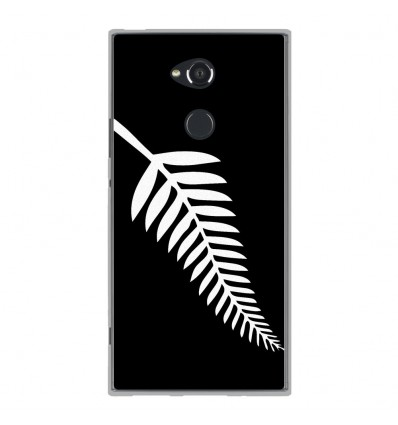 Coque en silicone Sony Xperia XA2 Ultra - Drapeau All-black