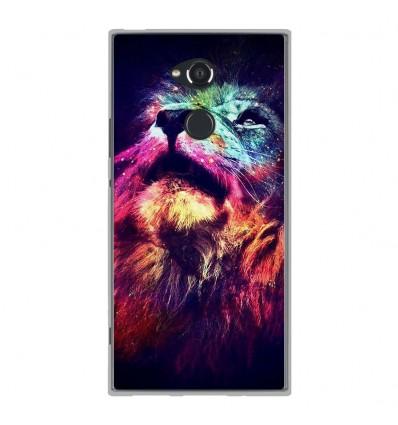 Coque en silicone Sony Xperia XA2 Ultra - Lion swag