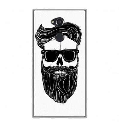 Coque en silicone Sony Xperia XA2 Ultra - Skull Hipster