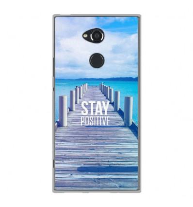 Coque en silicone Sony Xperia XA2 Ultra - Stay positive