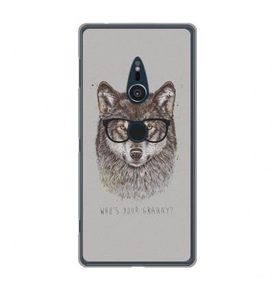 Coque en silicone Sony Xperia XZ2 - BS Granny