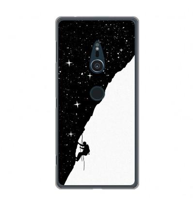 Coque en silicone Sony Xperia XZ2 - BS Nightclimbing