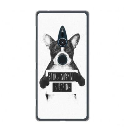 Coque en silicone Sony Xperia XZ2 - BS Normal boring