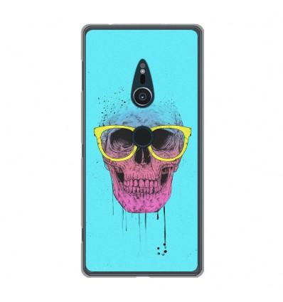 Coque en silicone Sony Xperia XZ2 - BS Skull glasses