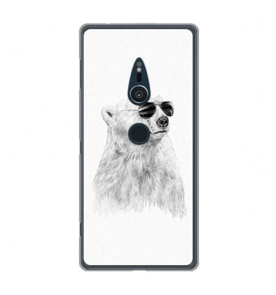 Coque en silicone Sony Xperia XZ2 - BS Sunny bear