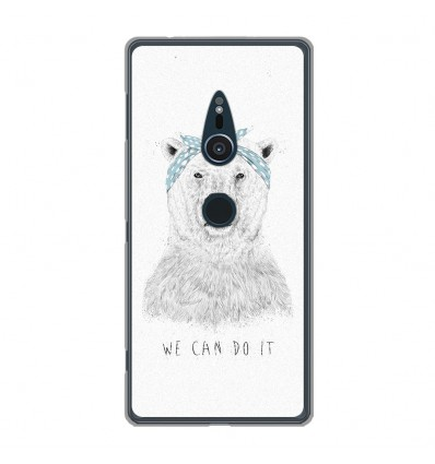 Coque en silicone Sony Xperia XZ2 - BS We can do it