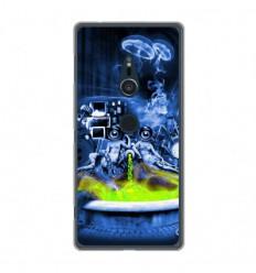 Coque en silicone Sony Xperia XZ2 - Fontaine