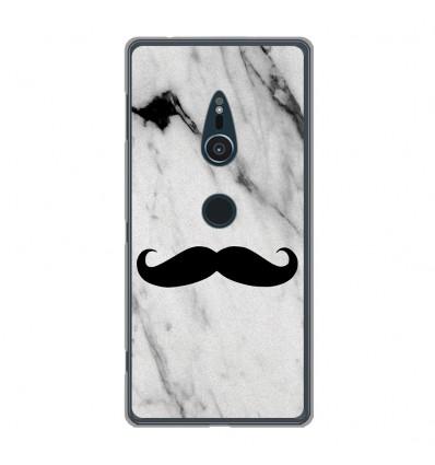 Coque en silicone Sony Xperia XZ2 - Hipster Moustache