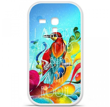 Coque en silicone Samsung Galaxy S3 Mini - Mocking bird
