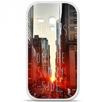 Coque en silicone Samsung Galaxy S3 Mini - Sunny side