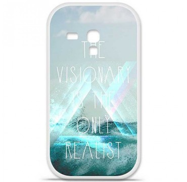 Coque en silicone Samsung Galaxy S3 Mini - Visionary