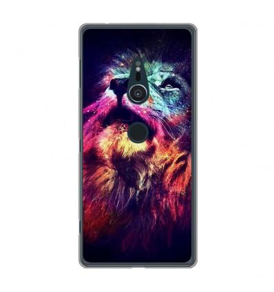 Coque en silicone Sony Xperia XZ2 - Lion swag