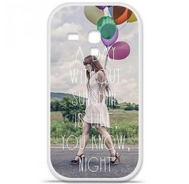 Coque en silicone Samsung Galaxy S3 Mini - Woman