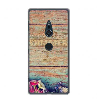 Coque en silicone Sony Xperia XZ2 - The best summer