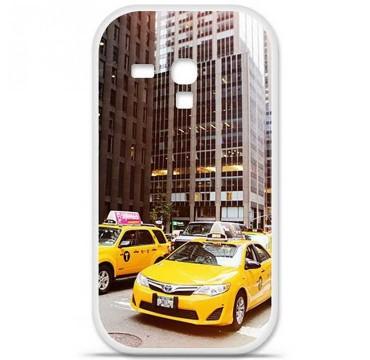 Coque en silicone Samsung Galaxy S3 Mini - NY Taxi