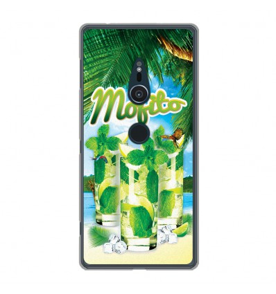 Coque en silicone Sony Xperia XZ2 - Mojito Plage