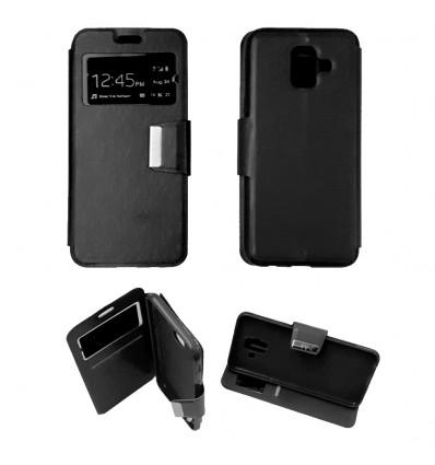 Etui Folio Samsung Galaxy A6 2018 - Noir