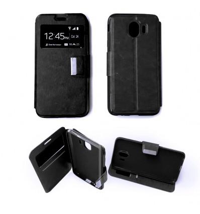 Etui Folio Samsung Galaxy J4 2018 - Noir