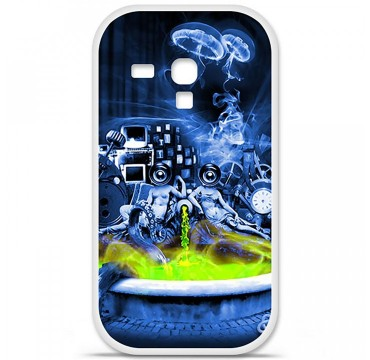 Coque en silicone Samsung Galaxy S3 Mini - Fontaine