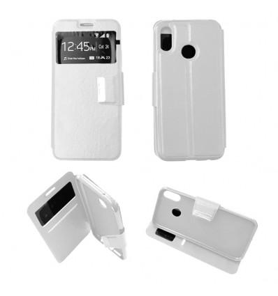 Etui Folio Huawei P20 Lite - Blanc
