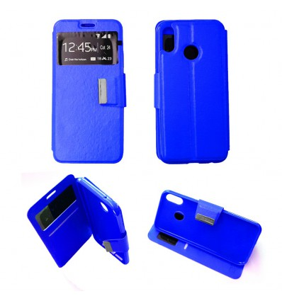 Etui Folio Huawei P20 Lite - Bleu