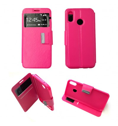 release info on fashion style wholesale outlet Etui Folio Huawei P20 Lite - Rose