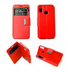 Etui Folio Huawei P20 Lite - Rouge