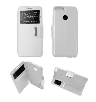 Etui Folio Huawei P Smart - Blanc