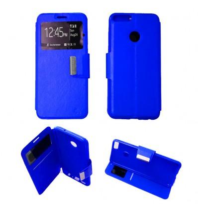 Etui Folio Huawei P Smart - Bleu