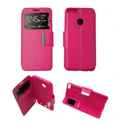 Etui Folio Huawei P Smart - Rose