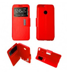 Etui Folio Huawei P Smart - Rouge
