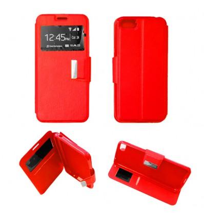 Etui Folio Huawei Y5 2018 - Rouge