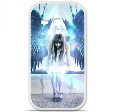 Coque en silicone pour Samsung Galaxy S3 Mini - Angel