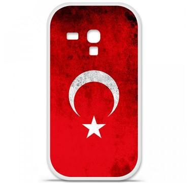 Coque en silicone Samsung Galaxy S3 Mini - Drapeau Turquie
