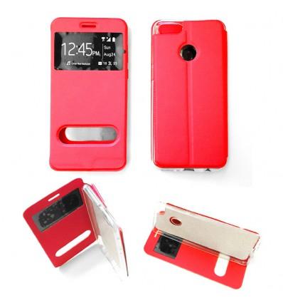 Etui Folio Huawei Y9 2018 - Rouge