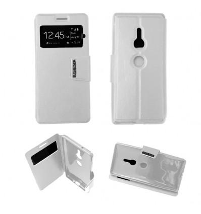 Etui Folio Sony Xperia XZ2 - Blanc