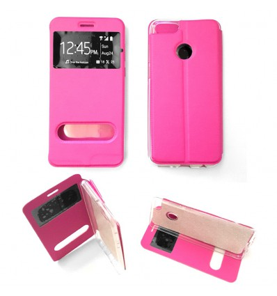 Etui Folio Huawei Honor 7X - Rose