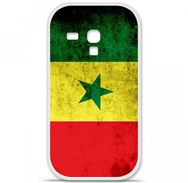 Coque en silicone Samsung Galaxy S3 Mini - Drapeau Sénégal