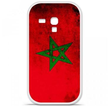 Coque en silicone Samsung Galaxy S3 Mini - Drapeau Maroc