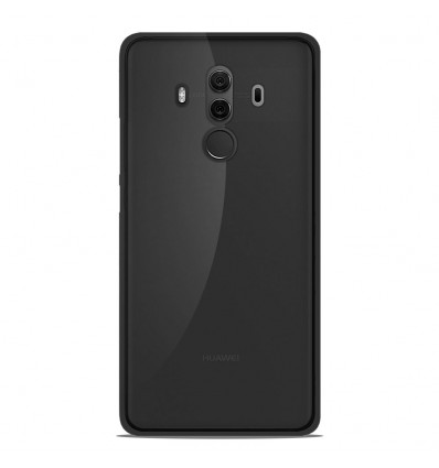 Coque Huawei Mate 10 Pro Silicone Gel givré - Noir