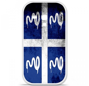 Coque en silicone Samsung Galaxy S3 Mini - Drapeau Martinique