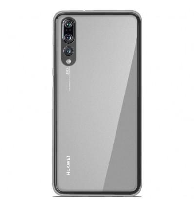 Coque Huawei P20 Pro Silicone Gel givré - Blanc Translucide