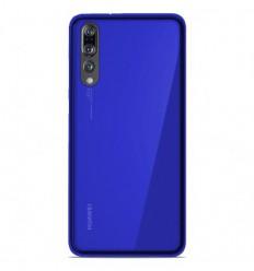 Coque Huawei P20 Pro Silicone Gel givré - Bleu Translucide