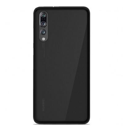 Coque Huawei P20 Pro Silicone Gel givré - Noir