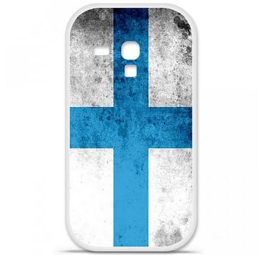 Coque en silicone pour Samsung Galaxy S3 Mini - Drapeau Marseille